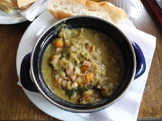 Cafe de Oude Wester: Delicious pea soup!