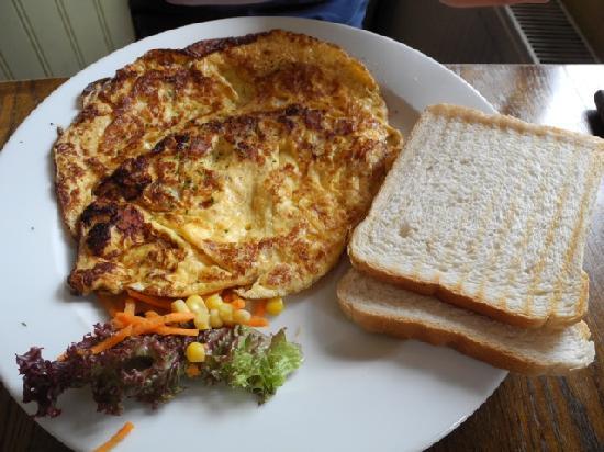 Cafe de Oude Wester: Delicious omelette!