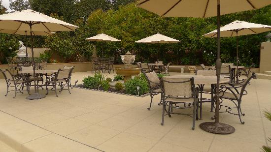 Signorello Estate Winery: Patio Area