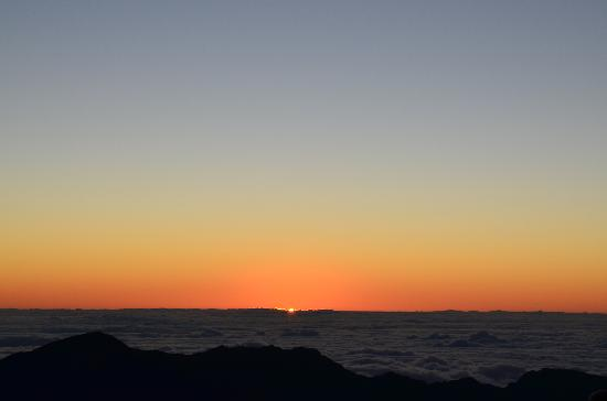 Paia, Hawái: the beautiful haleakala sunrise