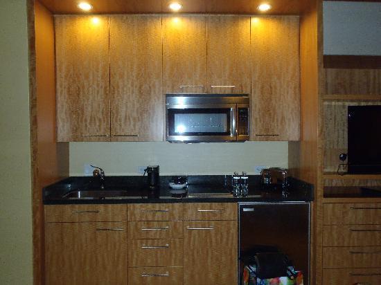 โรงแรมทรัมพ์ อินเตอร์เนชั่นแนล ลาสเวกัส: kitchenette