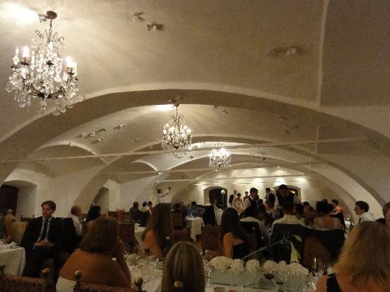 Hotel Schloss Obermayerhofen: Wedding reception area