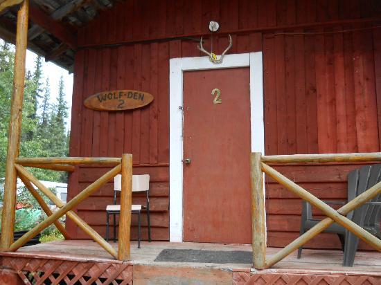 Tatogga Lake Resort : the cabin we stayed in