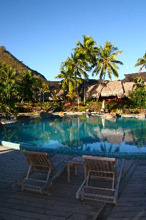 Hilton Moorea Lagoon Resort & Spa: swimming pool