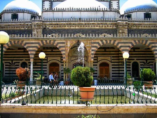 Khalid ibn Al-Walid Mosque : the main terrace
