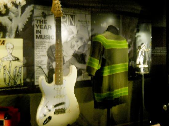 Museum of Pop Culture: Cimeli dei Nirvana