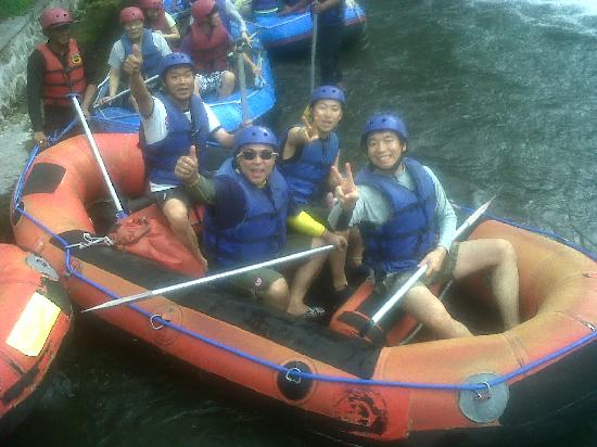 Up and Away Bali Tours: best rafting only usd 50