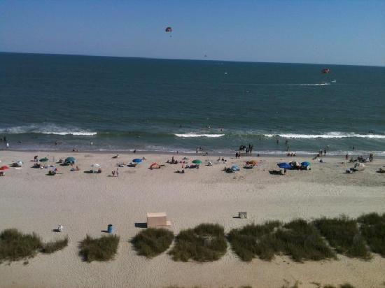 Sea Crest Oceanfront Resort: The view from our room