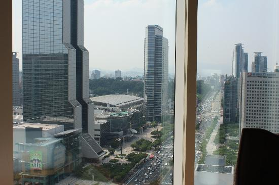 พาร์คไฮแอท โซล: 部屋からの眺め2