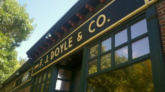 Harpoon Brewery & Beer Hall: Doyle's! You can take a free trolley there after the Sam Adams tour! Only 5.50 for the beer & gl