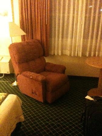 Days Hotel & Conference Center - Methuen MA: the creepy recliner...