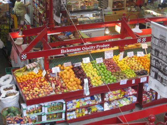 Saint John City Market: Old City Market Fruit stand