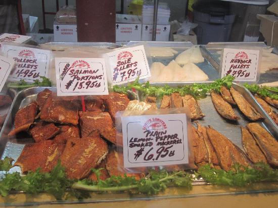 Saint John City Market: Fantastic smoked fish
