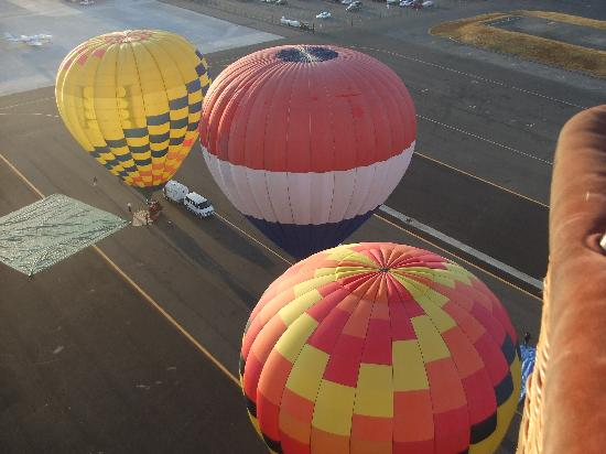 Up & Away Ballooning: Lift off and Up, Up & Away we go