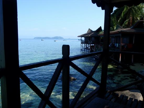 Salang Indah Resort: View north