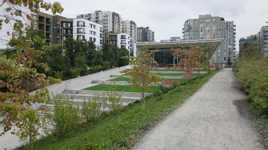 Olympic Sculpture Park: Pavilion
