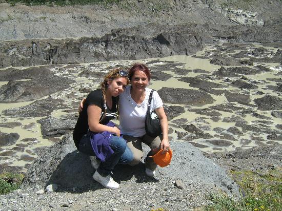 Cerro Tronador: de donde caian lohielos