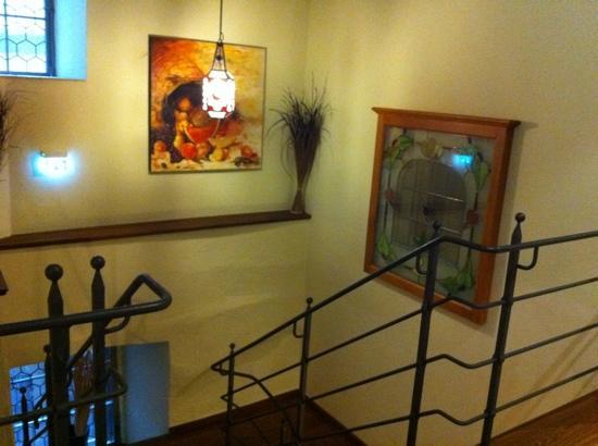 Hotel Klosterstueble: 階段