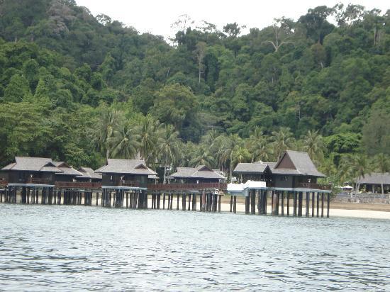 Pangkor Laut Resort: sea villa
