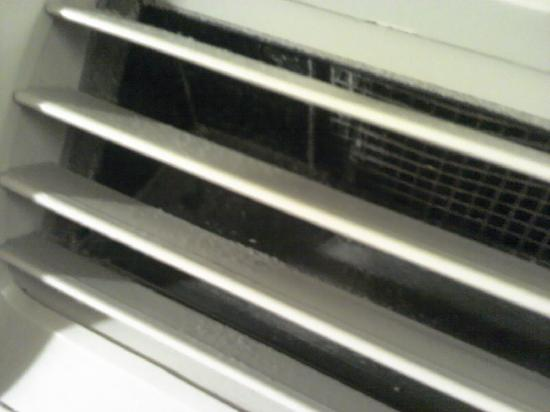 Holiday Inn Express Hotel & Suites Dothan North : Dust in ac vent