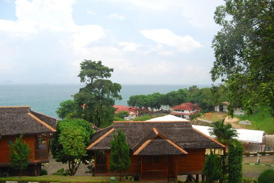 KTM Resort: View from our room