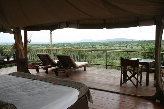 Mara Bushtops & Spa Village : Spectacular view