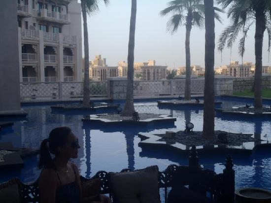 Jumeirah Al Qasr at Madinat Jumeirah: this is as you walk into hotel..