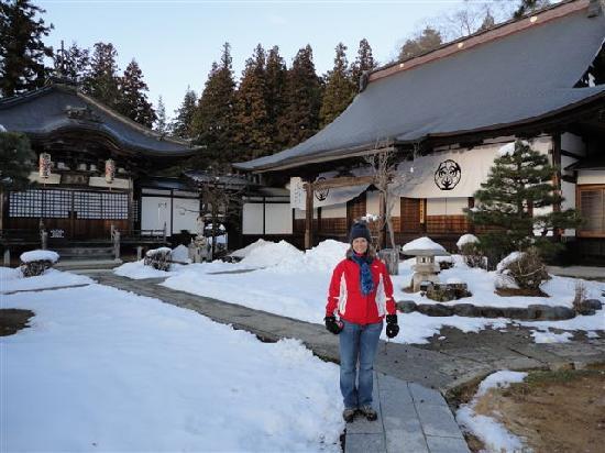 ทานาเบะ เรียวกัง: Takayama temple