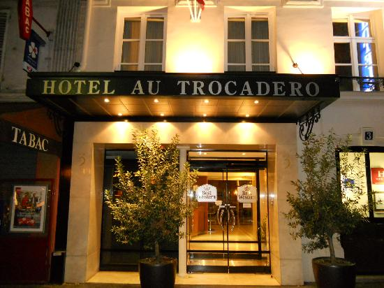 hotel name picture of best western au trocadero paris