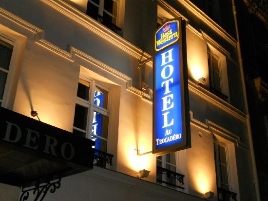 Best Western Au Trocadero: Hotel Name