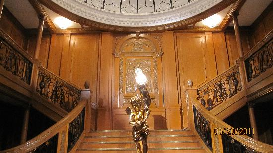 Titanic The Experience: The Grand Staircase