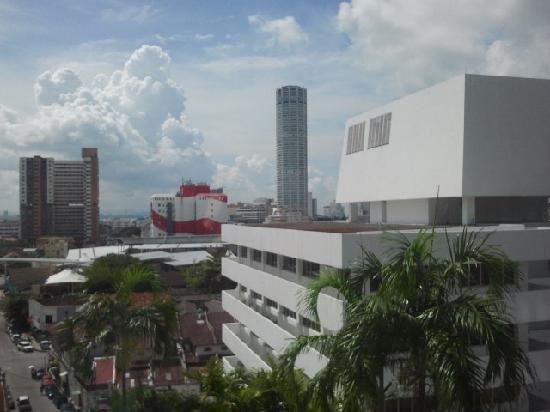 โฮเต็ลรอยัล ปีนัง: View of Komtar from Corporate Suite