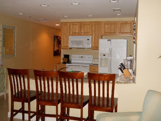 Splash Resort Condominiums Panama City Beach: Nice Kitchen