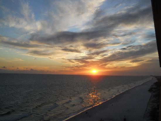 Splash Resort Condominiums Panama City Beach: Beautiful Sunset!
