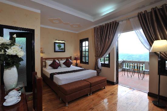 โรงแรมซาปาอีเดน: Balcoy Deluxe Double