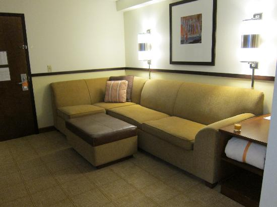 Hyatt Place Tulsa-South/Medical District : my resting area