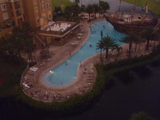 Lake Buena Vista Resort Village & Spa: Deck 8th Floor