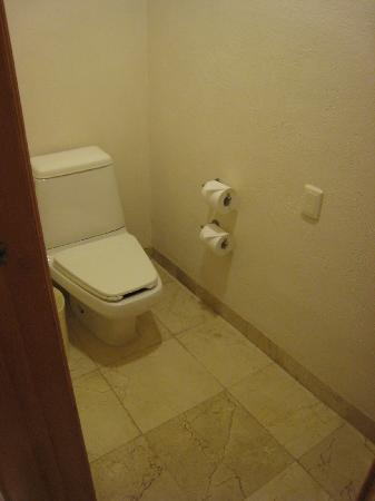 Grand Park Royal Cancun Caribe: トイレも広々