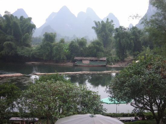 หยางซั่ว เมาเท่น รีทรีท: View from our room's balcony
