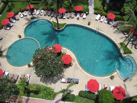 อมารี เกาะสมุย: Pool taken from tower