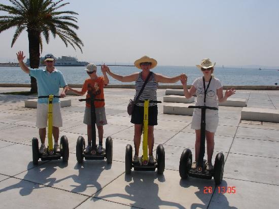 Segway Tour Split: segway fun