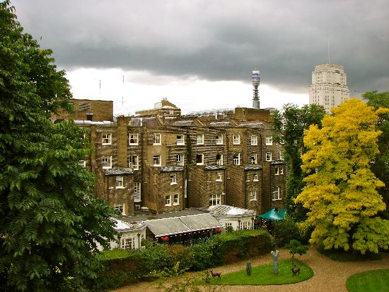 Grange Beauchamp Hotel: View from Window