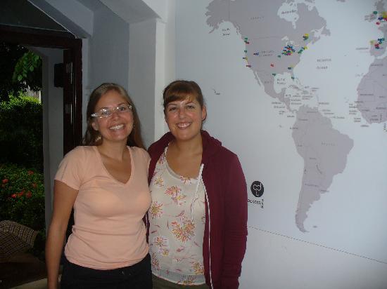 Sanya Backpackers: Claire and Lauren