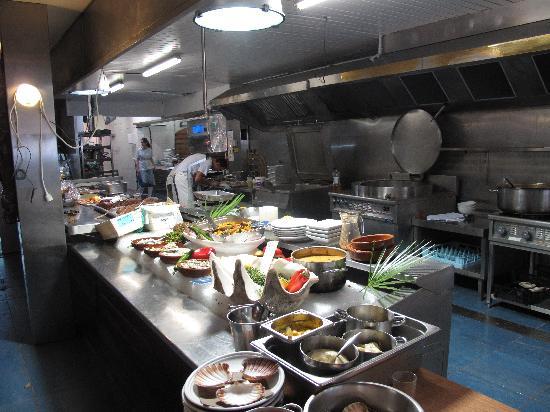 La Pecherie Ducamp: cucina a giorno