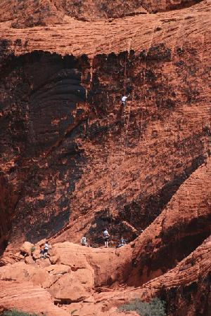 Red Rock Canyon National Conservation Area: climbing