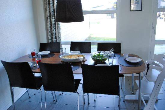 Lalandia Billund : Dining room in Design6 house