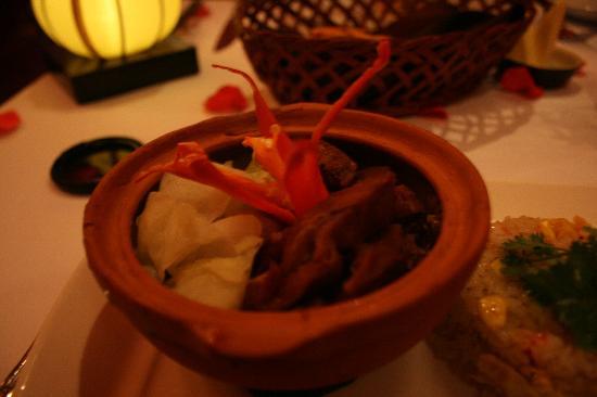 Restaurant Bobby Chinn: the pork