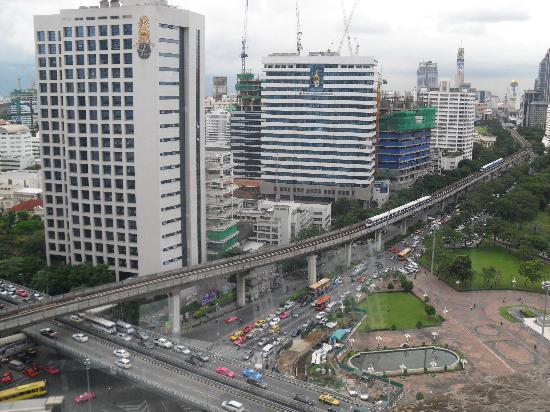 โรงแรมดุสิตธานี กรุงเทพ: View from D'Sens