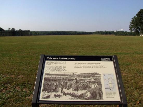 Andersonville National Historic Site and National Prisoner of War Museum: This was Andersonville