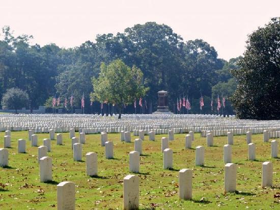 Andersonville National Historic Site and National Prisoner of War Museum: Cemetery